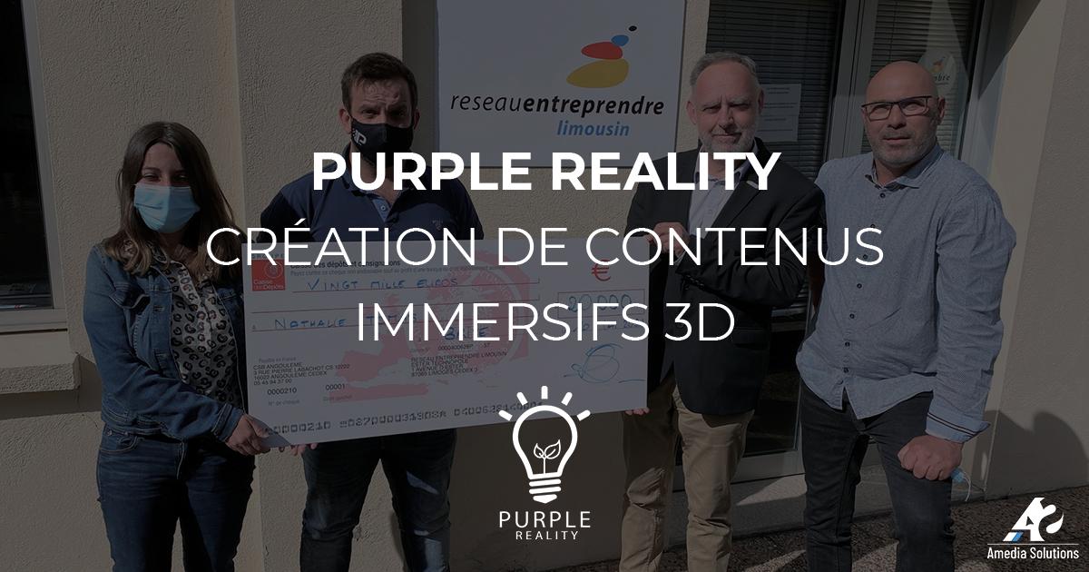 Purple Reality, Nathalie Tomas propose des solutions aux entreprises en s'appuyant sur la réalité virtuelle