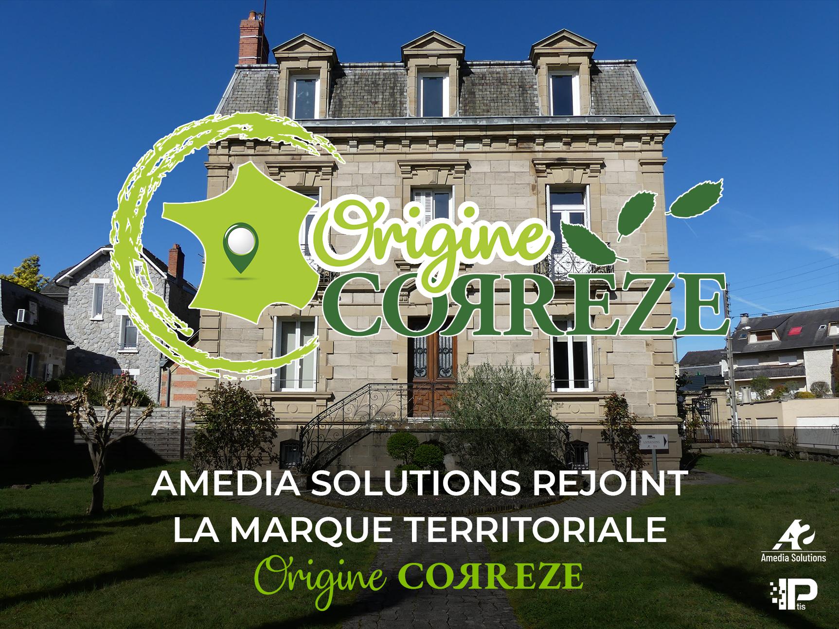 Amedia Solutions et IPtis rejoignent la marque territoriale «Origine Corrèze»